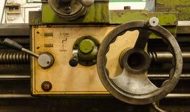老控制机械 免版税图库摄影