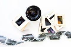 老摄影齿轮 库存照片