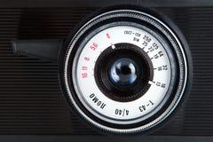 老摄象机镜头 免版税库存照片