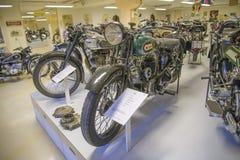 老摩托车, 1930年bsa英国 免版税库存照片