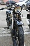 老摩托车 库存照片