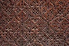 老摩洛哥窗口 库存图片