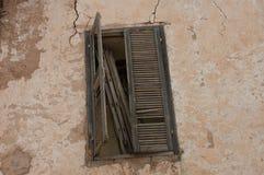 老摩洛哥巴巴里人窗口 库存照片