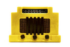老收音机 免版税图库摄影