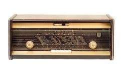 老收音机 库存照片