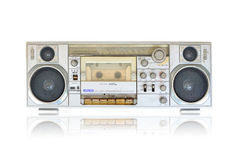 老收音机 免版税库存照片