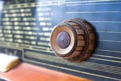 老收音机 图库摄影