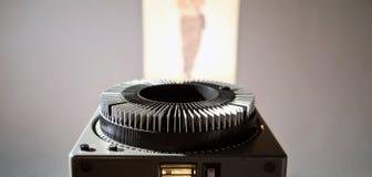 老放映机 免版税库存图片