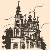 老教会剪影 免版税库存图片