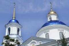 老教会在乌克兰 免版税库存图片