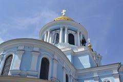 老教会在乌克兰 图库摄影