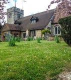 老教会在伦敦 免版税库存照片