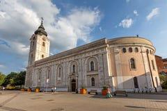 老教会在市佩奇匈牙利, 16威严2016年 免版税图库摄影