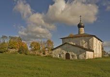 老教会在普斯克夫 免版税库存照片