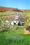 老教会在果树园 库存照片
