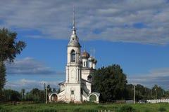 老教会在沃洛格达州 免版税图库摄影