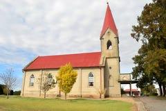老教会在科洛尼亚省 免版税库存图片