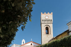 老教会在阿利亚诺,巴斯利卡塔,意大利 库存照片
