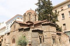 老教会在雅典 免版税库存照片