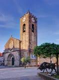 老教会在Ponte de利马,葡萄牙 图库摄影