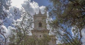 老教会比尔基卡拉马耳他 免版税库存照片