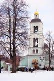 老教会看法在Tsaritsyno公园在莫斯科 库存图片