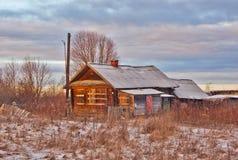 老教会,圣洁,正统,村庄,放弃,无人居住 图库摄影