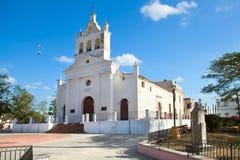 老教会Nuestra夫人・ del卡门 图库摄影