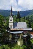 老教堂在奥地利 库存照片