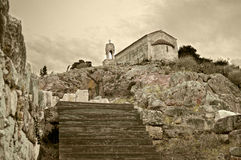 老教堂 库存照片