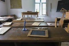 老教室内部 图库摄影