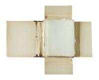 老文件夹 免版税库存照片