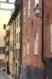 老斯德哥尔摩城镇 瑞典 库存图片