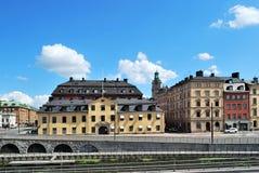 老斯德哥尔摩城镇 免版税图库摄影