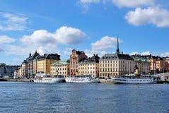 老斯德哥尔摩城镇 免版税库存照片
