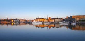 老斯德哥尔摩城镇 免版税库存图片