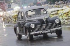 老斯里兰卡的英国汽车 免版税库存图片