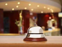 老旅馆响铃 库存图片