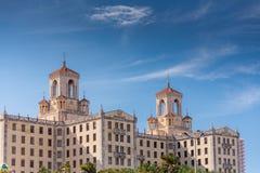 老旅馆在哈瓦那,古巴 库存图片