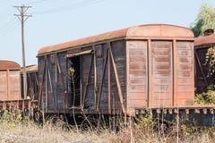 老无盖货车 库存图片