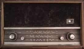 老无线电晶体管 免版税库存图片