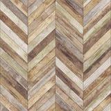 老无缝的木木条地板纹理 库存照片