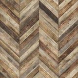 老无缝的木木条地板纹理 免版税图库摄影
