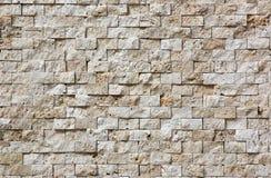 老无缝的石头铺磁砖盖瓦墙壁 免版税库存图片