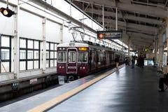 老日本人火车 库存图片