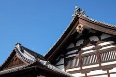 老日本寺庙 免版税库存照片