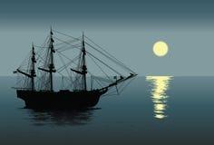 老时尚帆船 库存照片