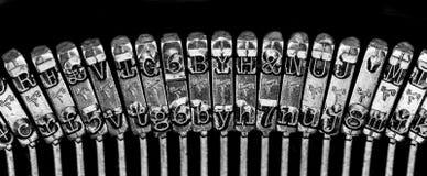 老时尚打字机 库存图片