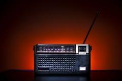老时尚收音机 库存图片