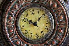老时钟表盘 库存照片